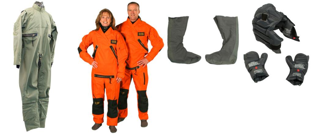 Military anti-exposure garments