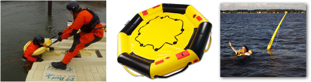 Rescue rafts