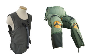 Military anti-G suits