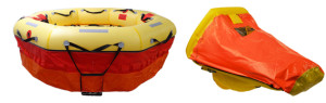 Military rescue rafts