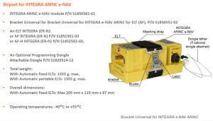 S1850581-01 Shipset INTEGRA ARINC e-NAV
