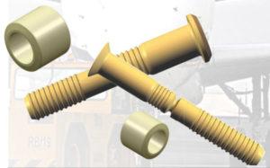 Ti-load aluminium lockbolt