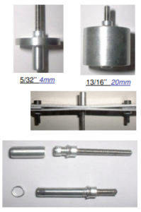 Hi-clamp multigrip temporary blind fastener