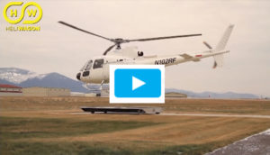 Heliwagon Remote control landing dolly for your Helicopter