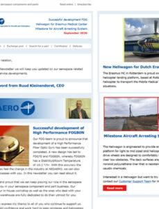 NEDAERO Newsletter September 2020